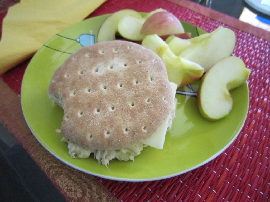 Tuna & Swiss Sandwich on Orowheat Sandwich Thin