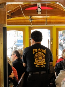 San Francisco Cable Car Grip Operator