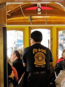 San Francisco Cable Car Grip Operator